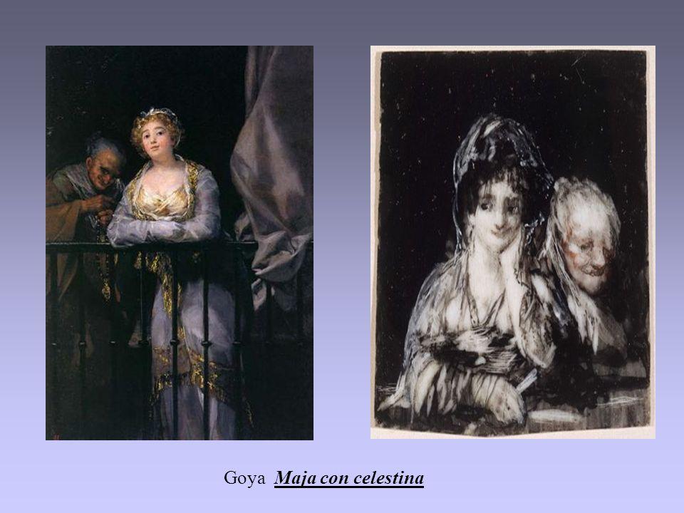 Goya Maja con celestina