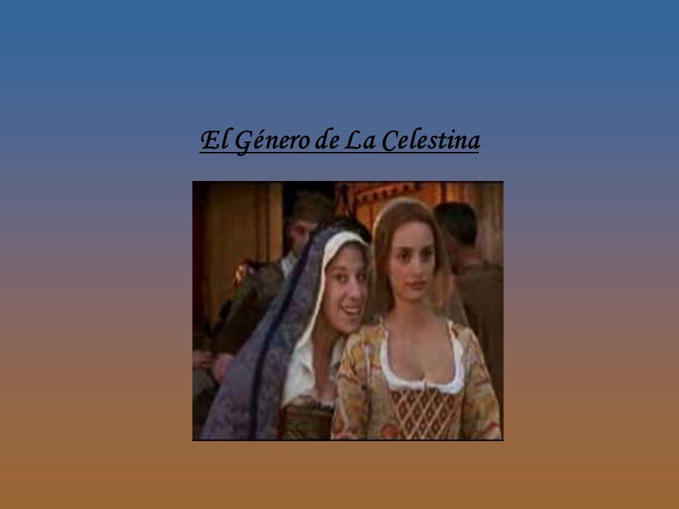 El Género de La Celestina