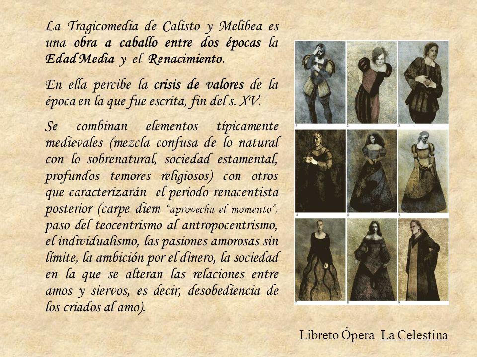 Libreto Ópera La Celestina