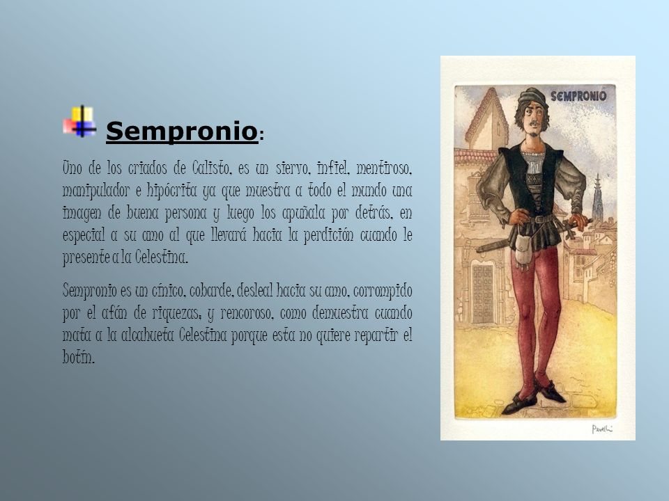 Sempronio: