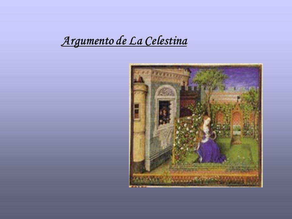 Argumento de La Celestina