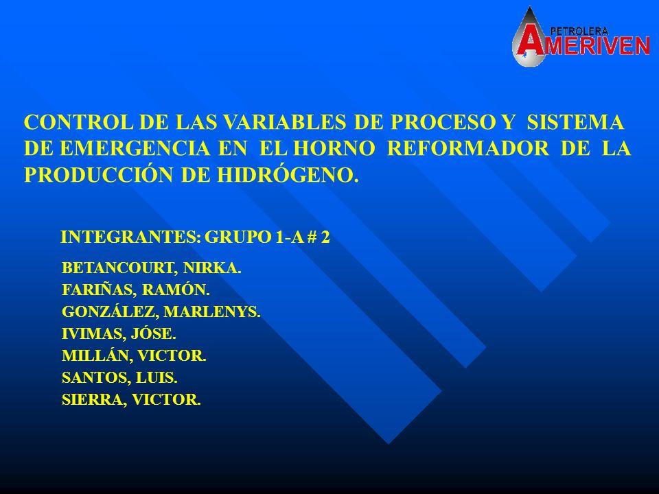 CONTROL DE LAS VARIABLES DE PROCESO Y SISTEMA