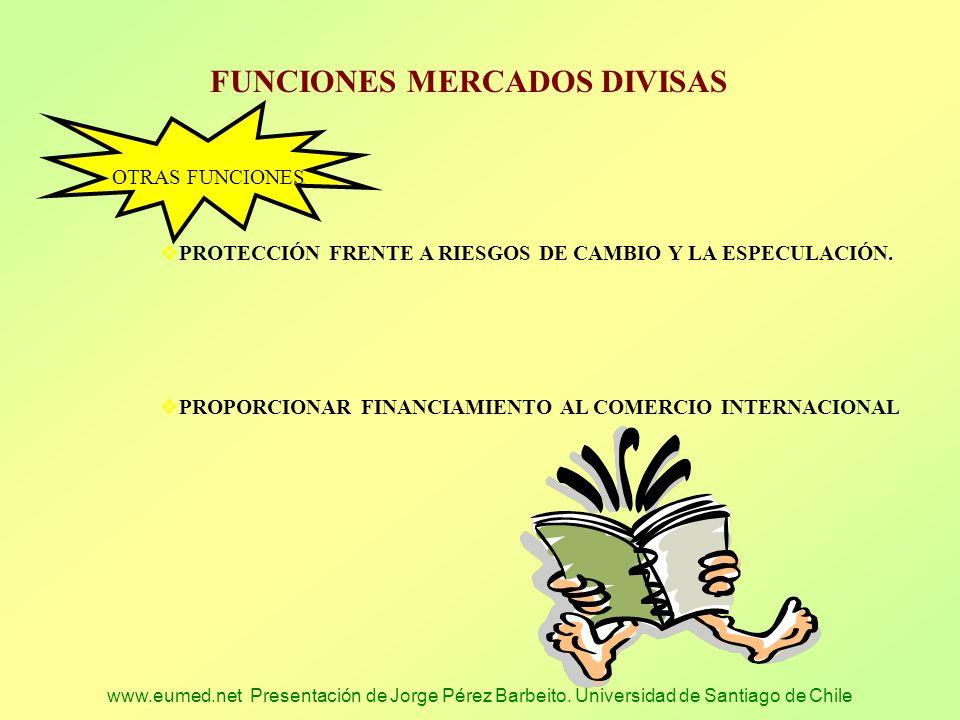 FUNCIONES MERCADOS DIVISAS