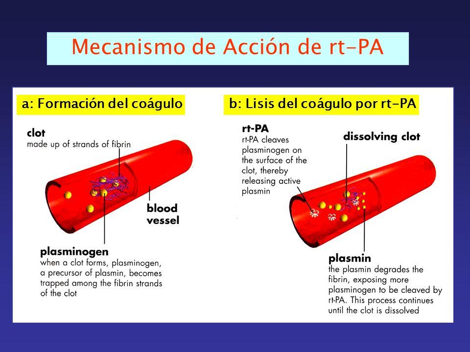 Mecanismo de Acción de rt-PA