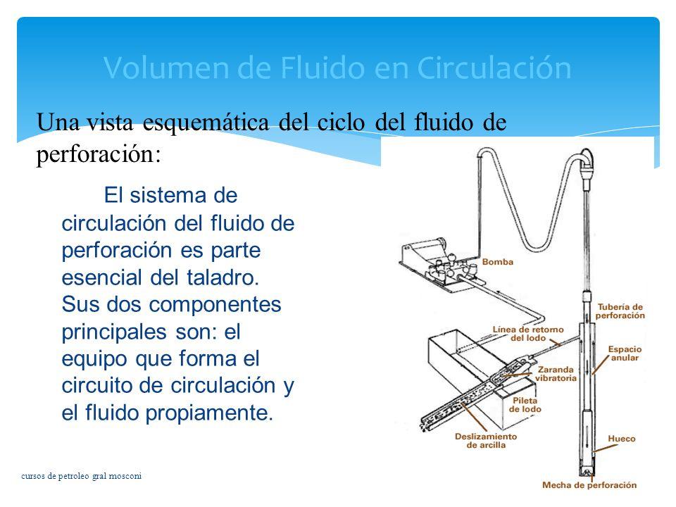 Volumen de Fluido en Circulación