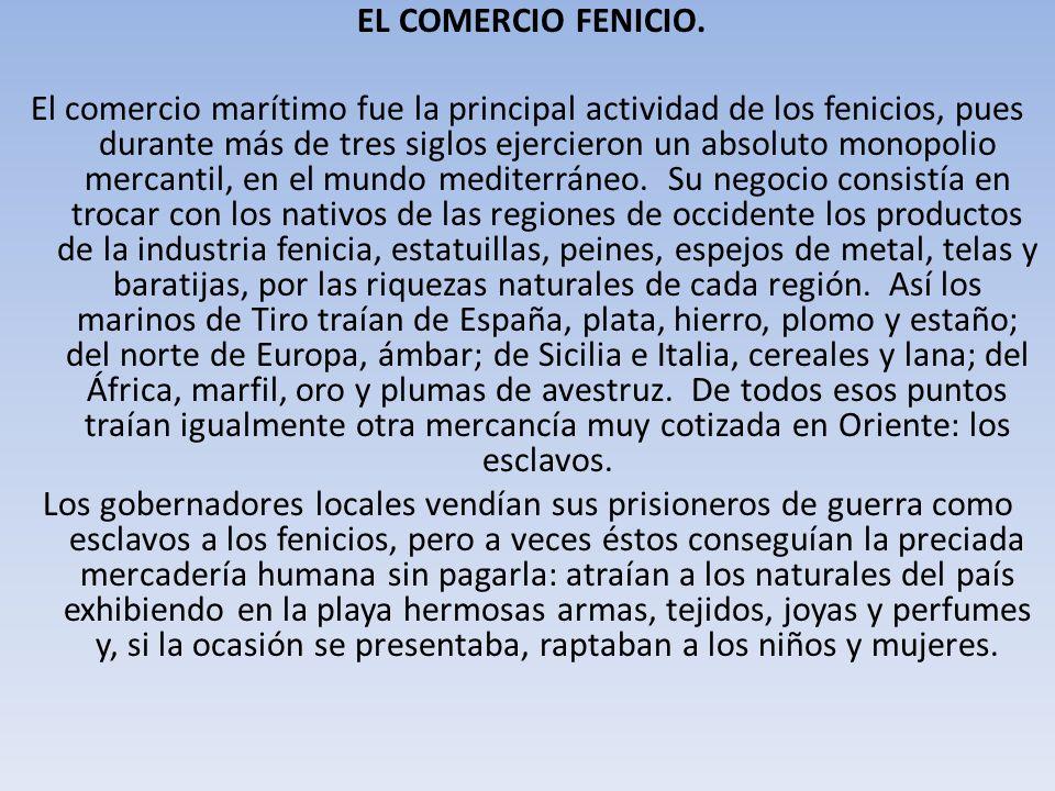 EL COMERCIO FENICIO.