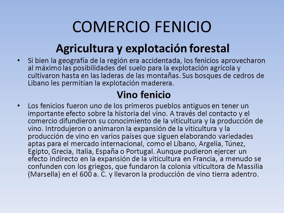 Agricultura y explotación forestal
