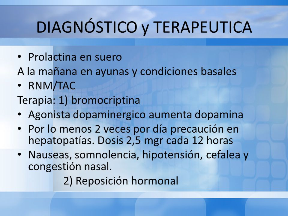 DIAGNÓSTICO y TERAPEUTICA