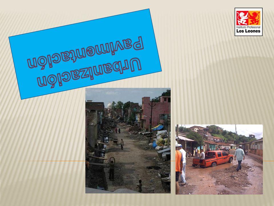 Pavimentación Urbanización