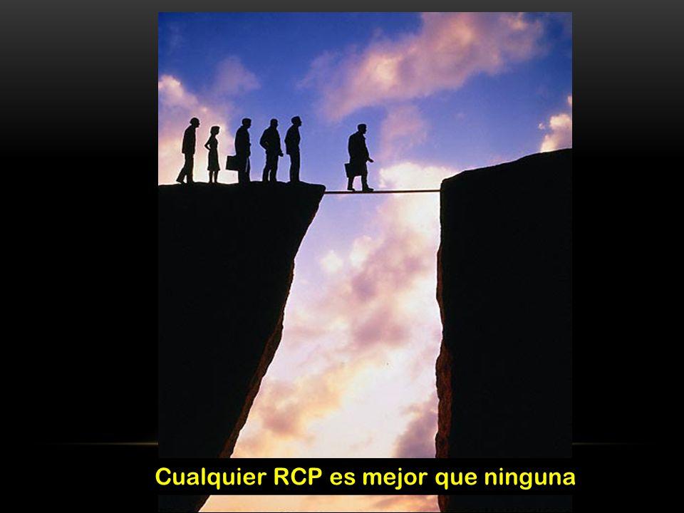 Cualquier RCP es mejor que ninguna