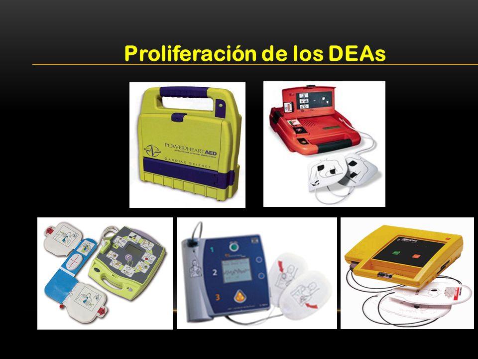 Proliferación de los DEAs