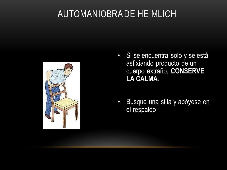 Automaniobra de Heimlich