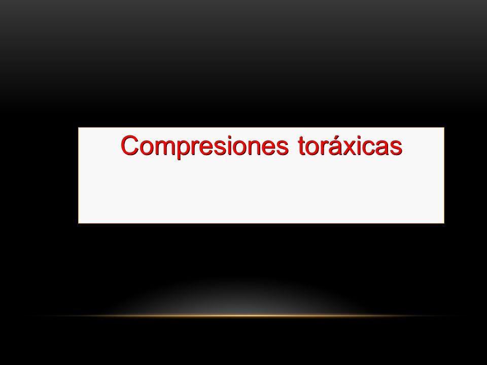 Compresiones toráxicas