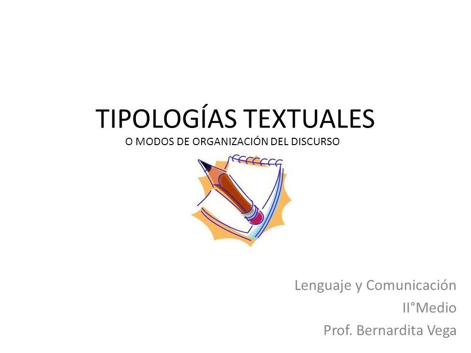 Lenguaje y Comunicación II°Medio Prof. Bernardita Vega