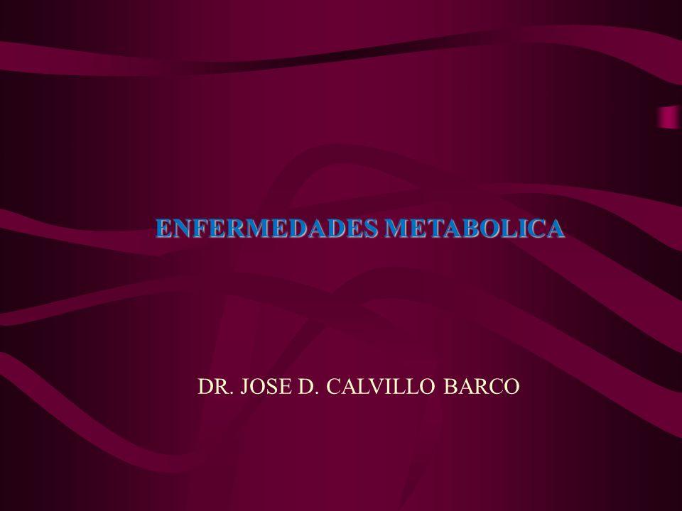 ENFERMEDADES METABOLICA