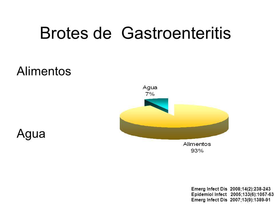Brotes de Gastroenteritis