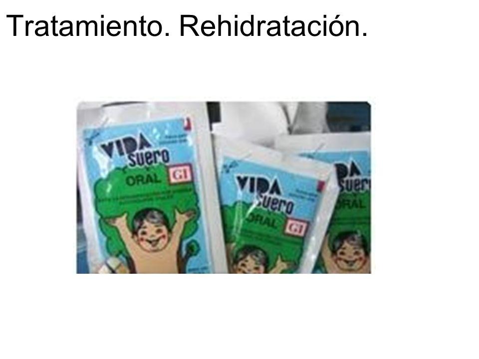 Tratamiento. Rehidratación.