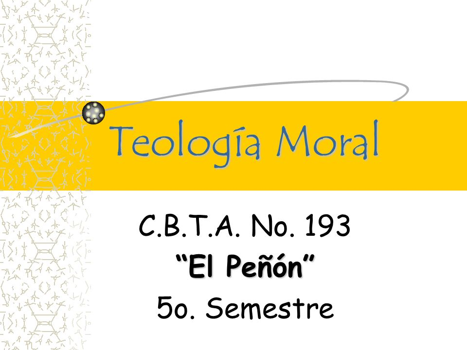 C.B.T.A. No. 193 El Peñón 5o. Semestre