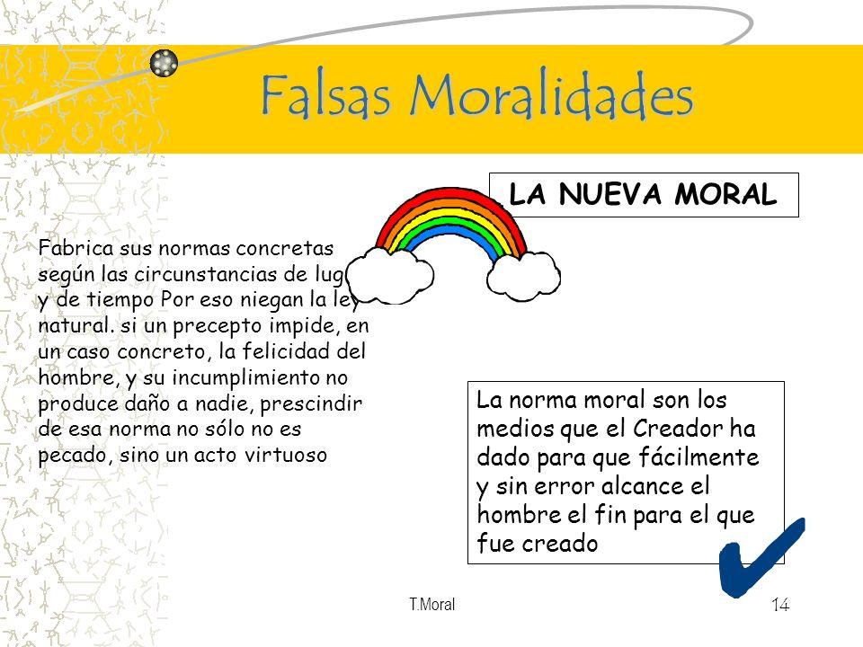 Falsas Moralidades LA NUEVA MORAL