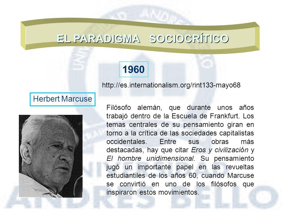 EL PARADIGMA SOCIOCRÍTICO