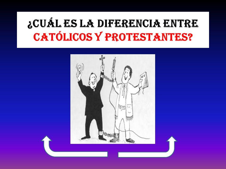 Matrimonio Catolico Y Protestante : Cuál es la diferencia entre católicos y protestantes