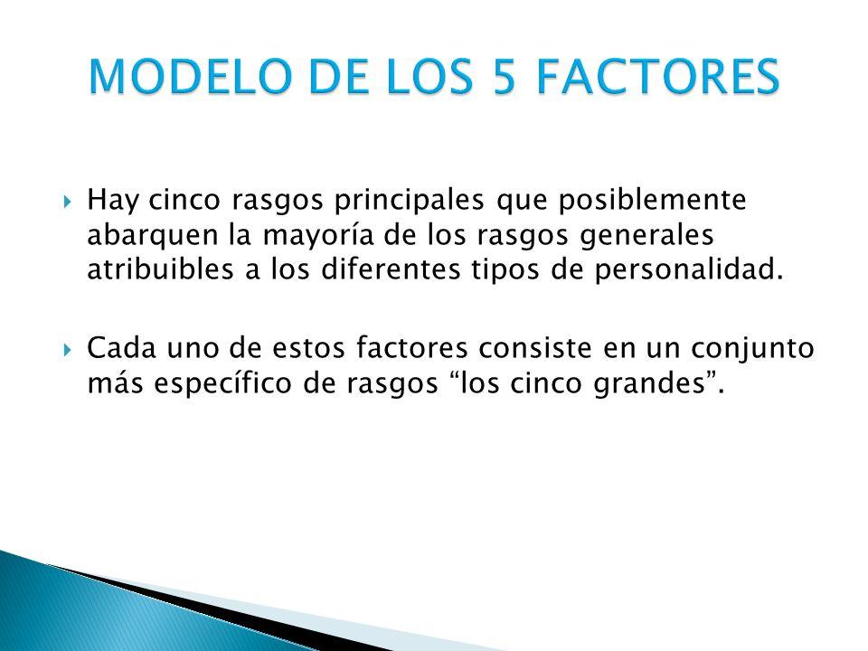 MODELO DE LOS 5 FACTORES