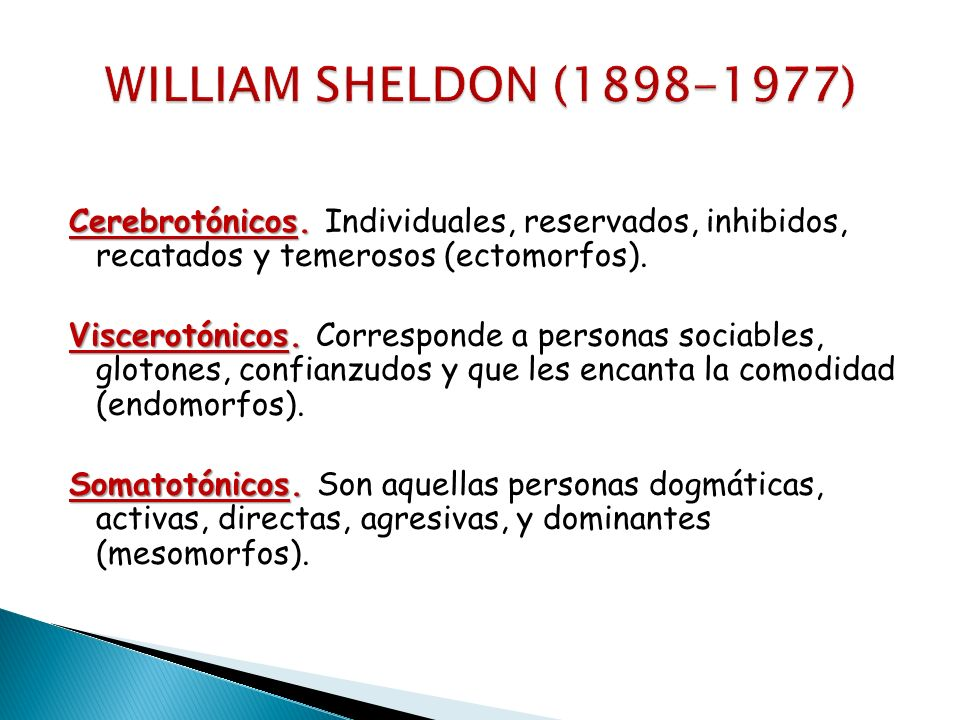 WILLIAM SHELDON ( )