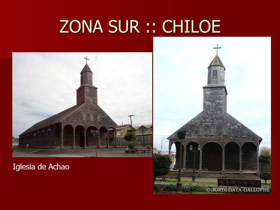 ZONA SUR :: CHILOE Iglesia de Achao