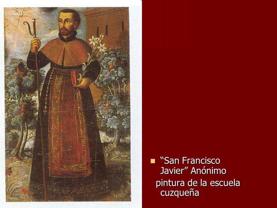San Francisco Javier Anónimo