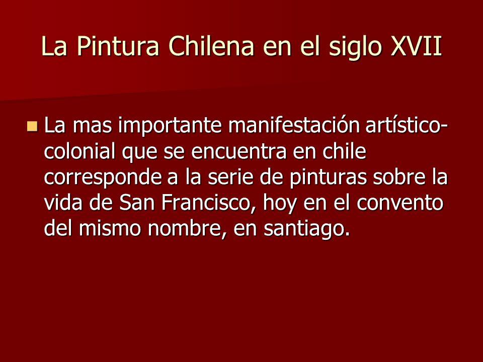 La Pintura Chilena en el siglo XVII