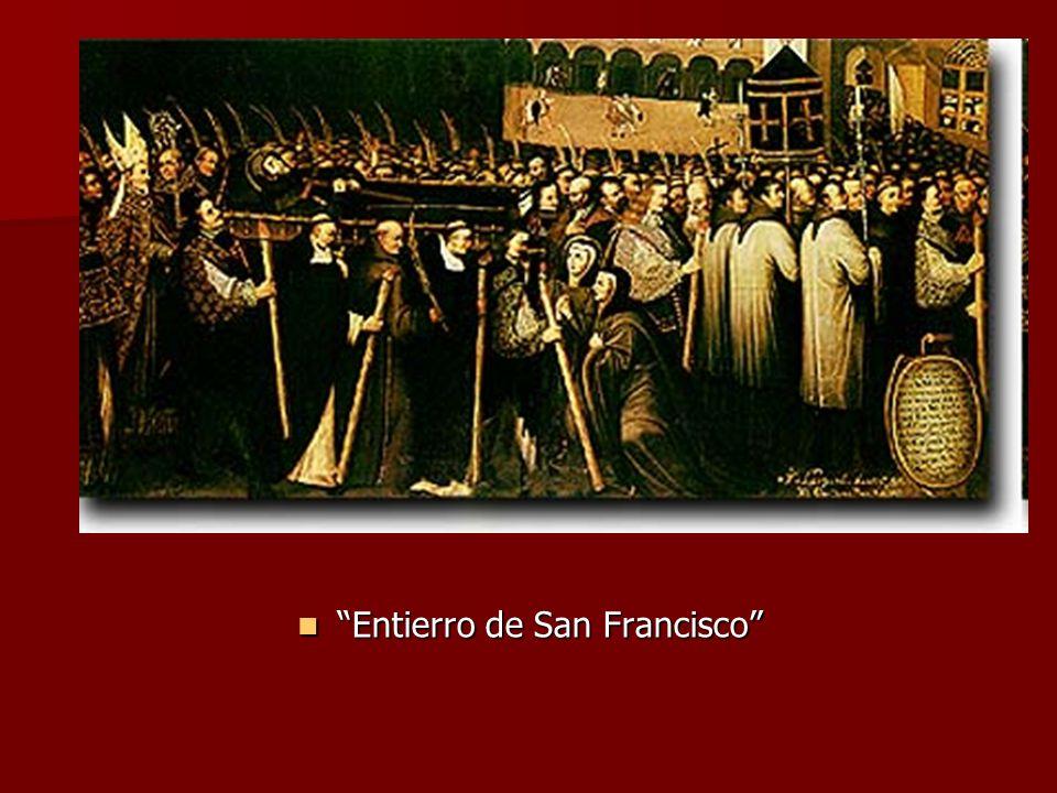 Entierro de San Francisco