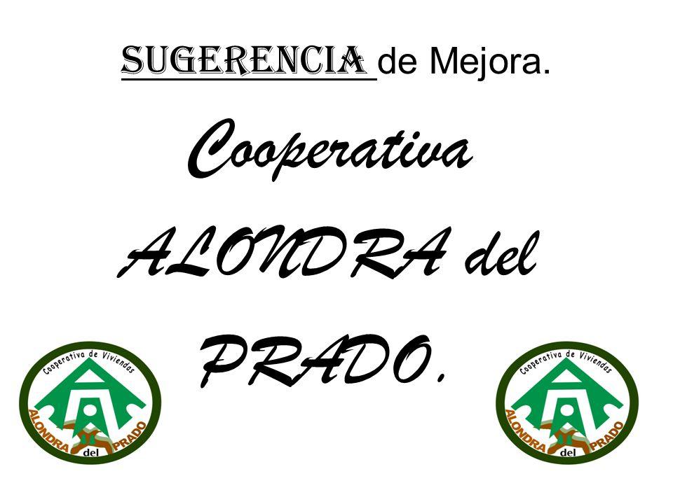 Cooperativa ALONDRA del PRADO.