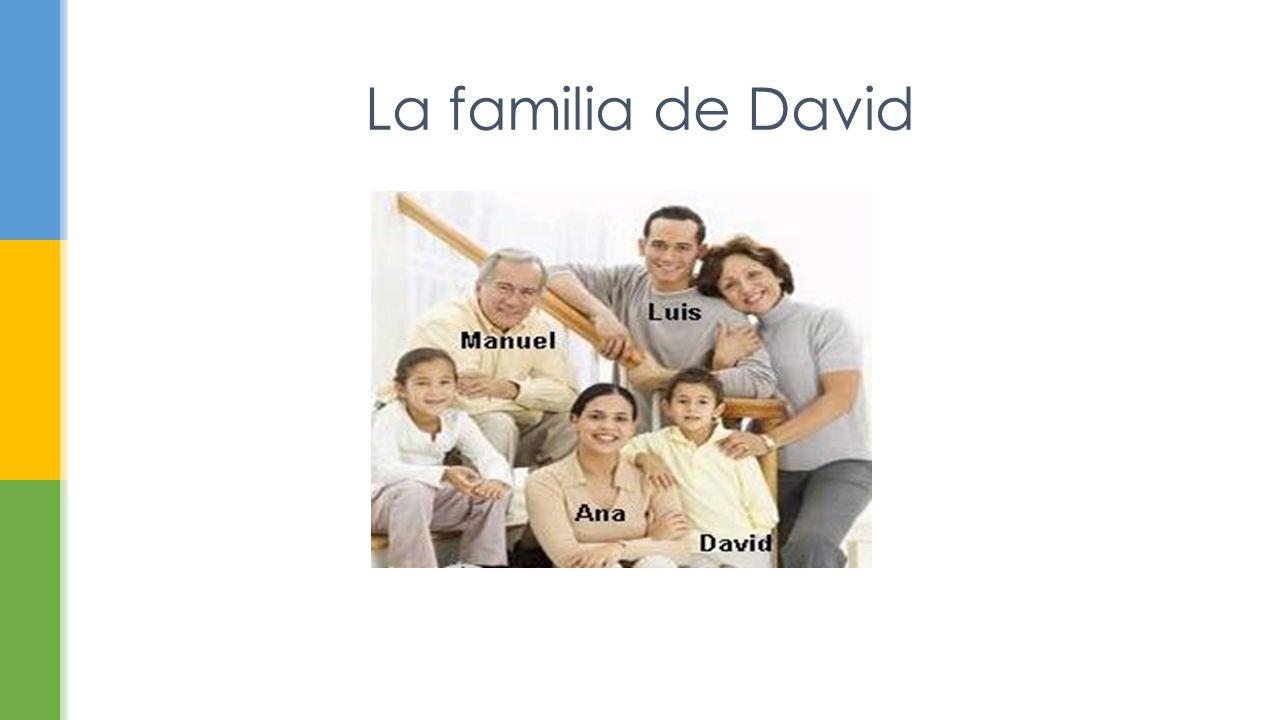 La familia de David