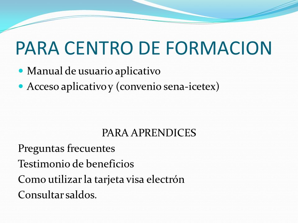Contrato de aprendizaje ppt descargar for On centro de formacion