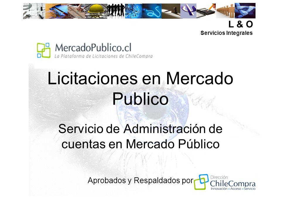 Licitaciones en Mercado Publico