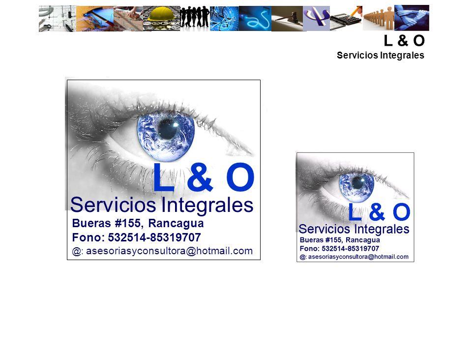 L & O Servicios Integrales L & O Bueras #155, Rancagua