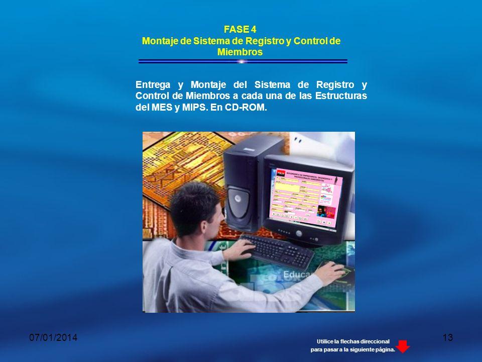 Montaje de Sistema de Registro y Control de Miembros