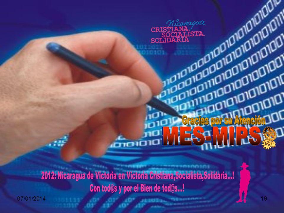 Gracias por su Atención MES-MIPS