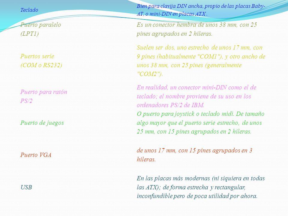 Puertos serie (COM o RS232)