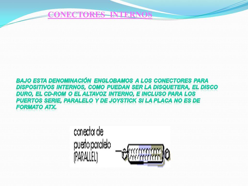CONECTORES INTERNOS