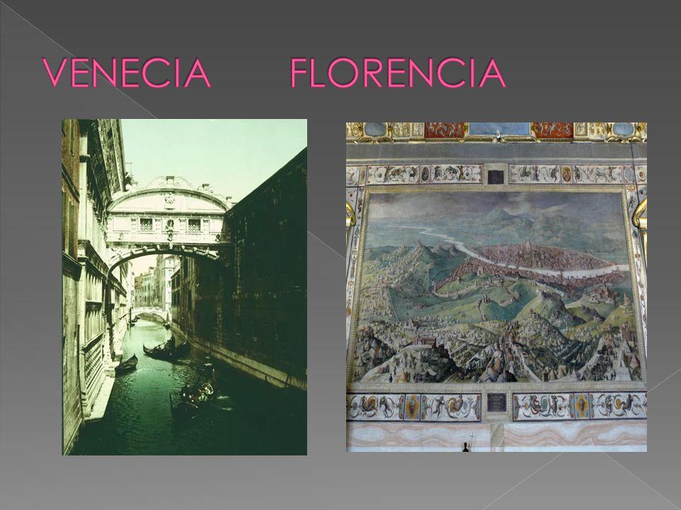 VENECIA FLORENCIA Primeros indicios del derecho internacional comercial.