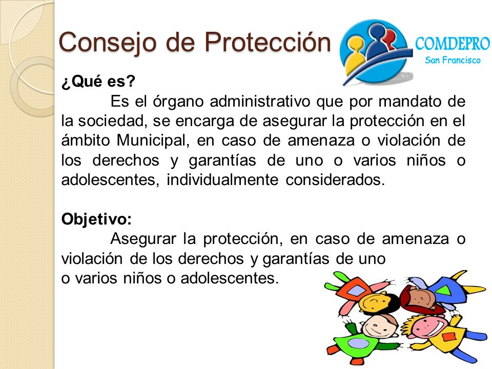 Consejo de Protección ¿Qué es