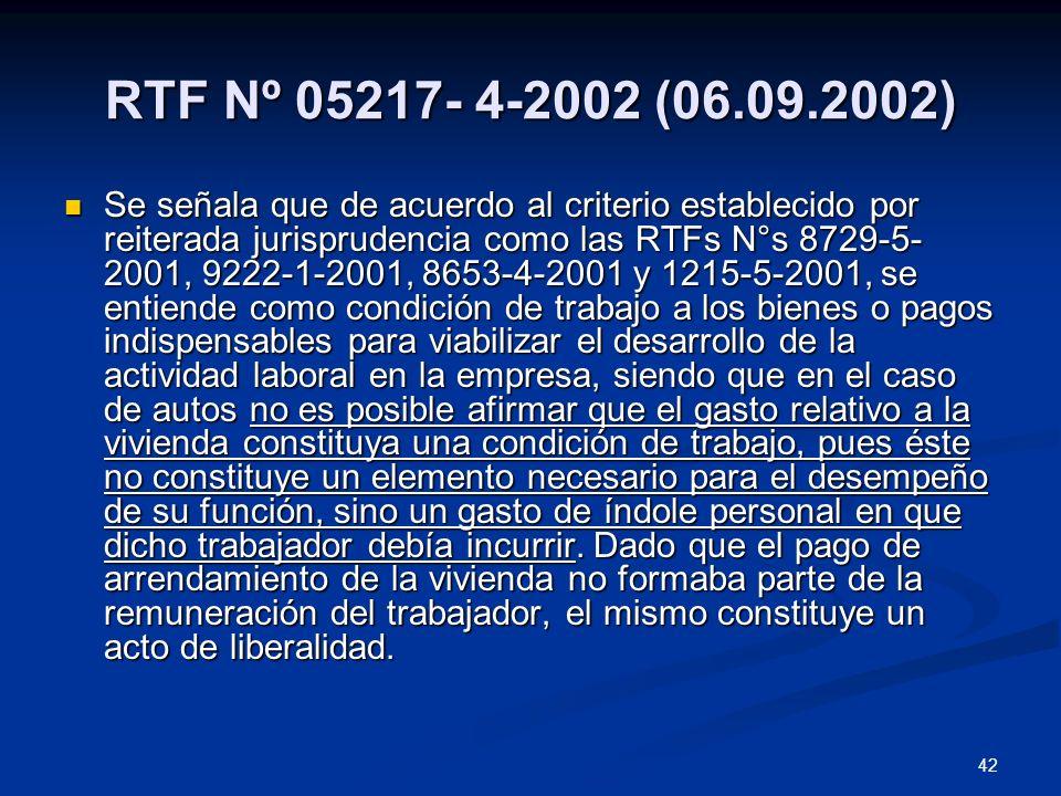 RTF Nº 05217- 4-2002 (06.09.2002)