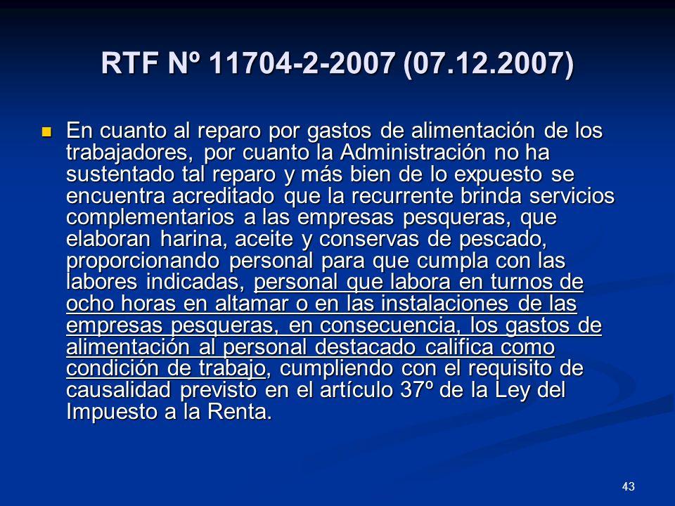 RTF Nº 11704-2-2007 (07.12.2007)