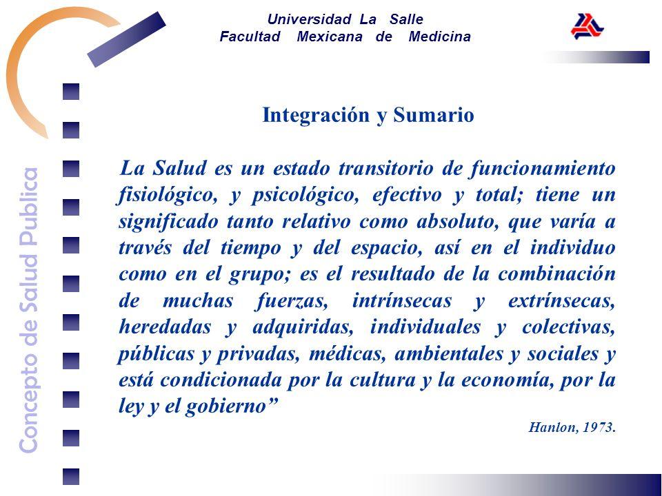 Integración y Sumario