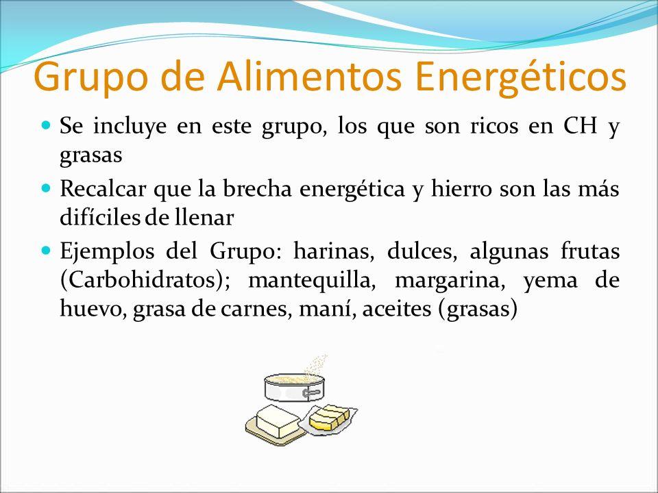 Grupo de Alimentos Energéticos
