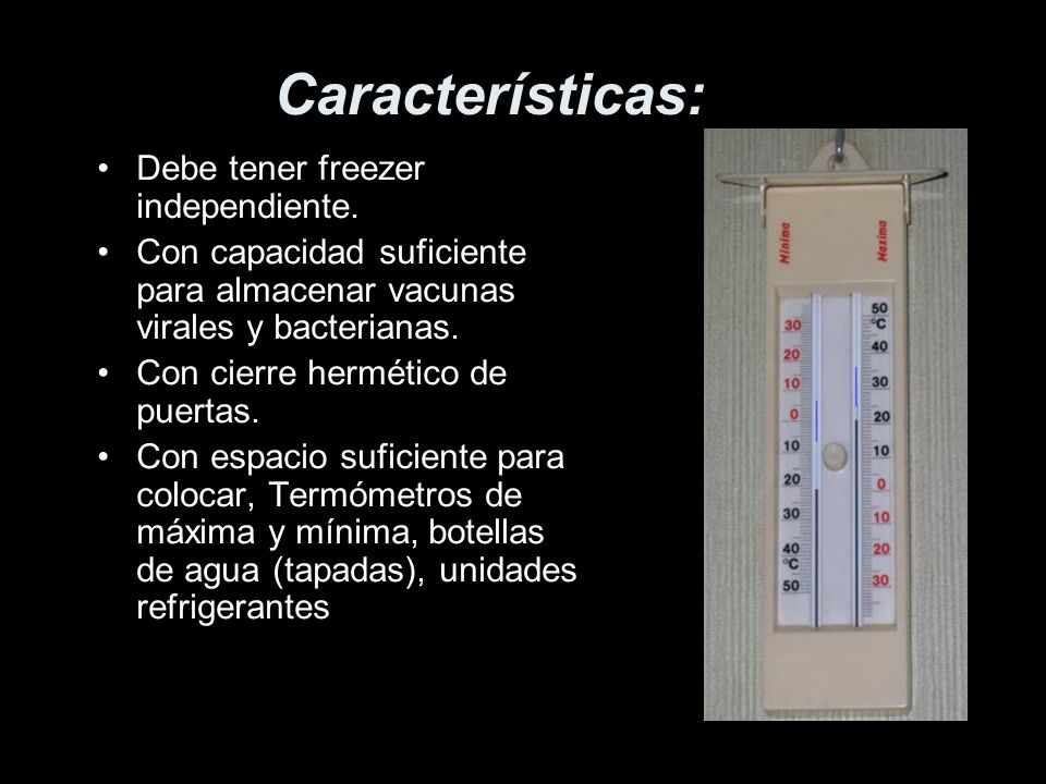 Características: Debe tener freezer independiente.