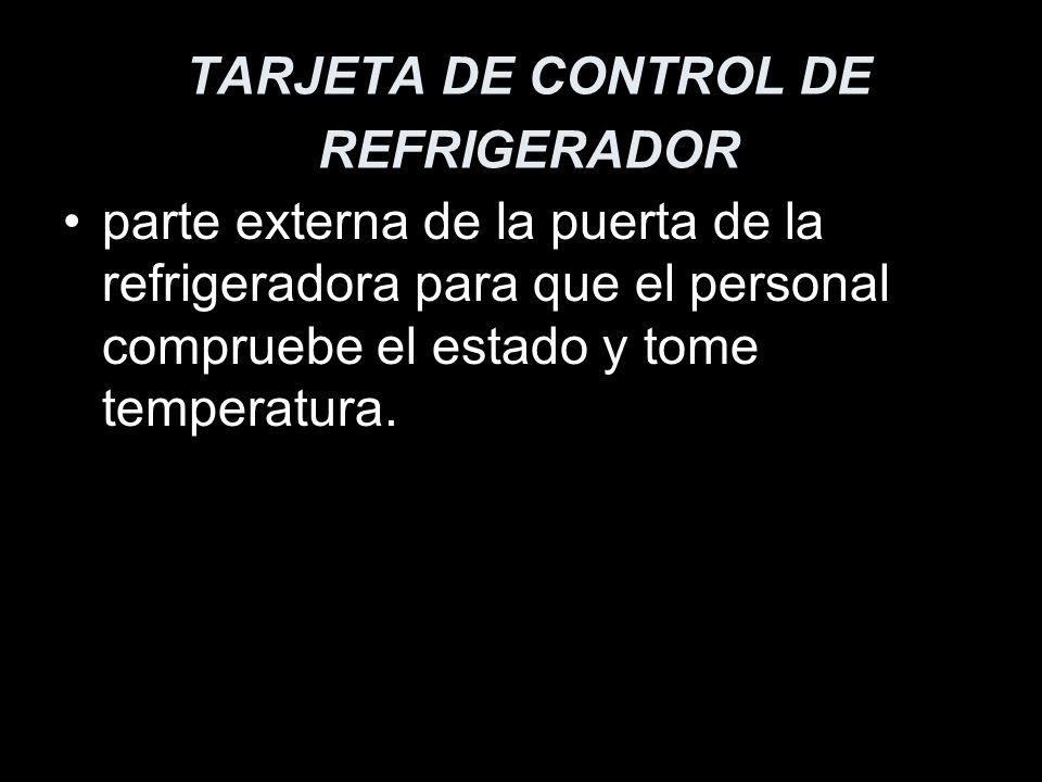 TARJETA DE CONTROL DE REFRIGERADOR
