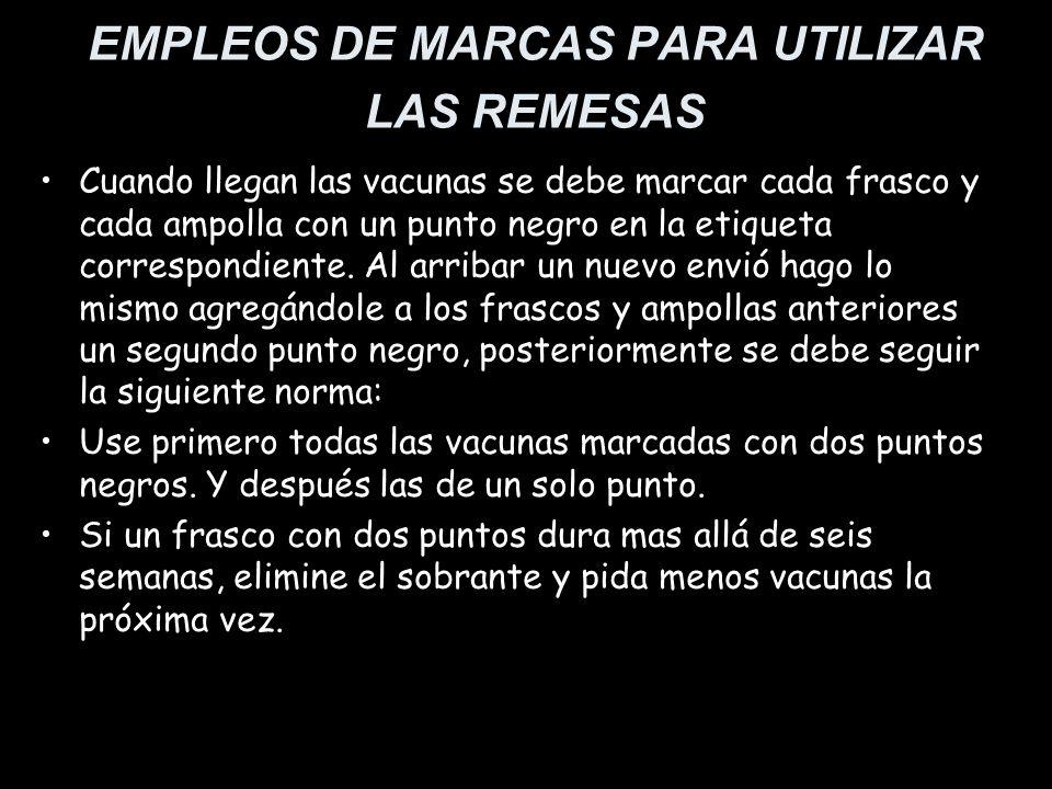 EMPLEOS DE MARCAS PARA UTILIZAR LAS REMESAS