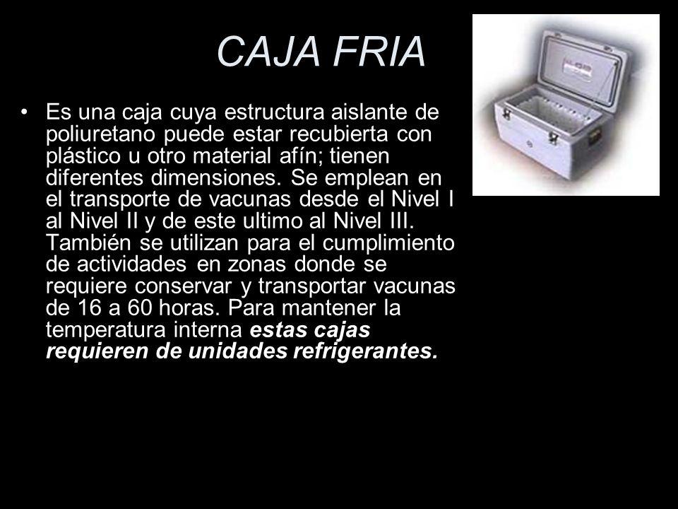 CAJA FRIA